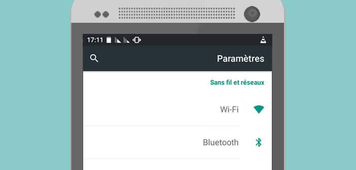 Configurer Android pour l'adapter pour les gauchers