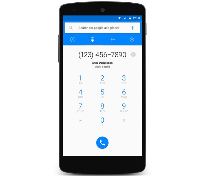 Passer un appel téléphonique depuis l'application Facebook Hello