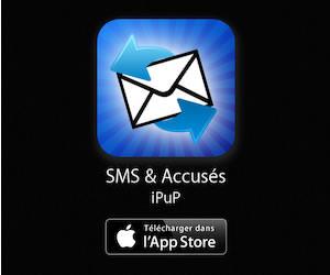 Application SMS & Accusés pour iPhone