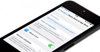 Bloquer les mises à jour automatiques sur l'iPhone