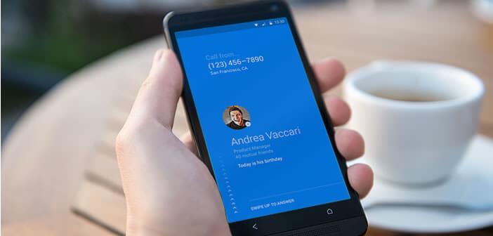 Dialer Facebook Hello pour les mobiles Android