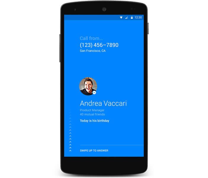 Identifier les appels grâce à l'application Facebook
