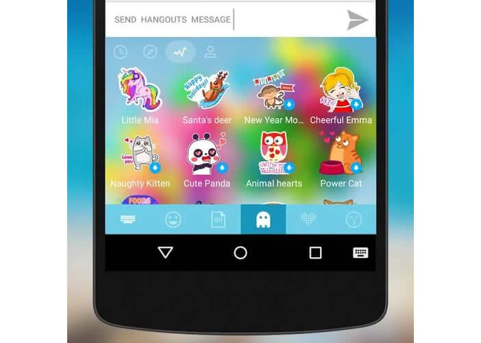 Clavier Android: Kika Emoji Keyboard