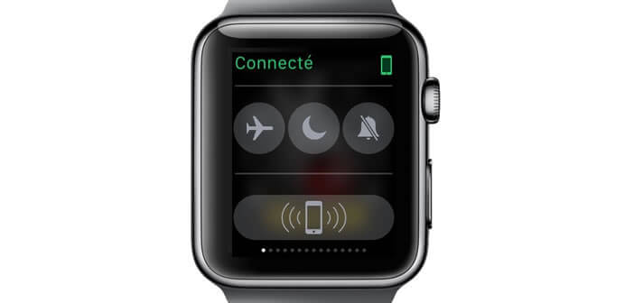 Localiser votre iPhone via votre Apple Watch