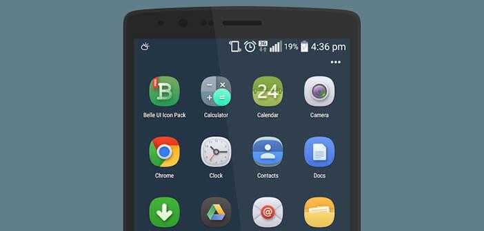 Les plus jolis packs d'icônes gratuit pour Android