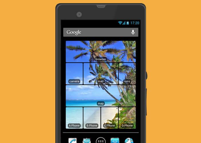 Personnaliser les icônes placées sur l'écran d'accueil de votre mobile Android