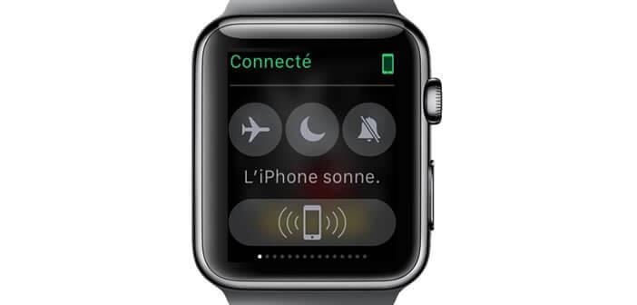 Retrouver son iPhone simplement en utilisant sa montre connectée