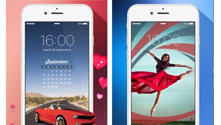 Fancy thème et fond d'écran pour smartphone Apple