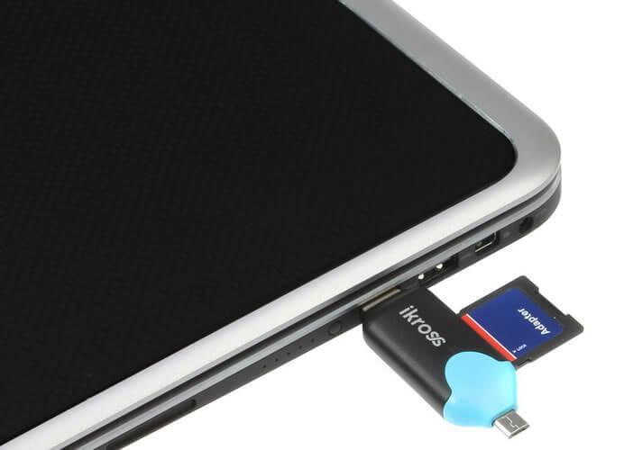 Ajouter un lecteur de carte SD à une tablette Android