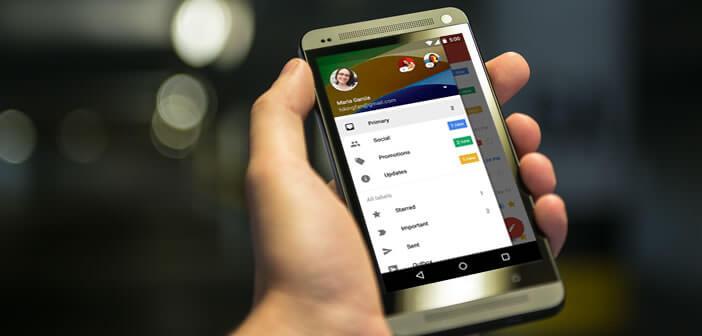 Centraliser tous vos comptes mails dans l'appli Gmail pour Android