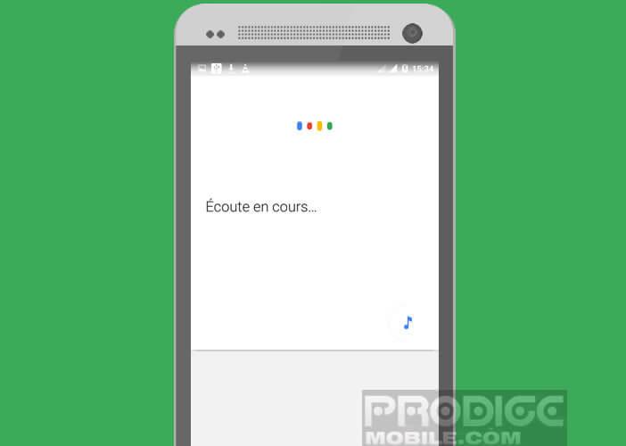 Passer vos ordres via la commande Ok Google sur Android