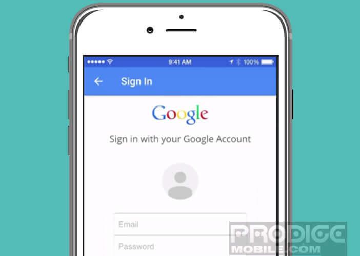 Utiliser votre compte Google pour stocker vos photos