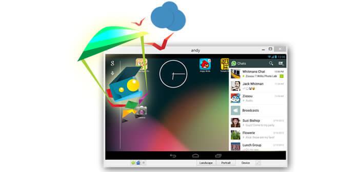 Emulateur Android Andy pour PC et Mac