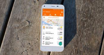 Comparateur de prix d'essence pour mobile Android