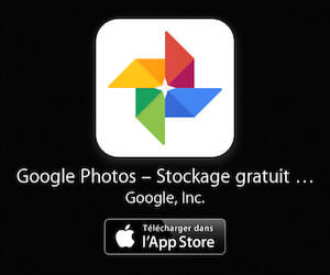 Installer l'application Google Photos pour iOs