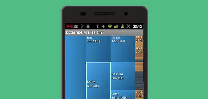 Identifier les fichiers volumineux stockés sur un mobile Android