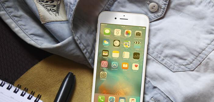Mode nuit de l'iPhone pour réduire la lumière bleue émise par l'écran