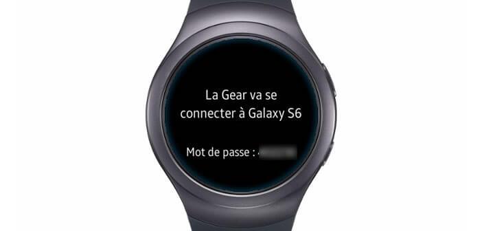 Mot de passe nécessaire à l'appairage du mobile avec la montre