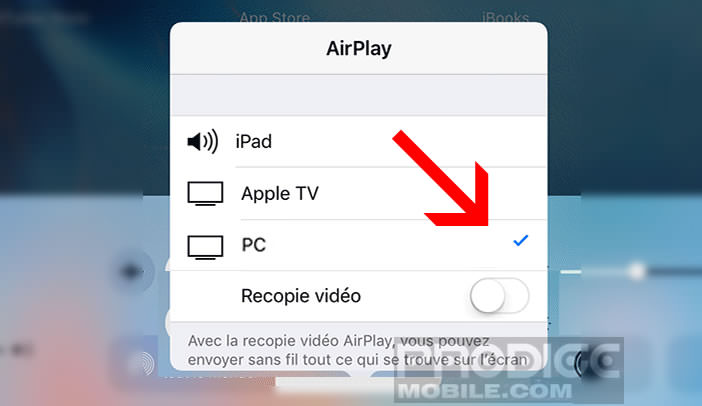 Comment afficher l 39 cran d 39 un iphone sur un pc sous windows for Configurer ecran pc
