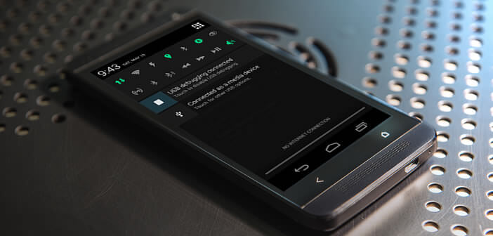 Personnaliser la barre de notification d'un mobile Android