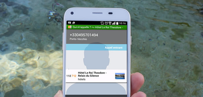 application android pour decrocher