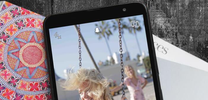 Rejouer un snap avec l'application Snapchat pour iPhone