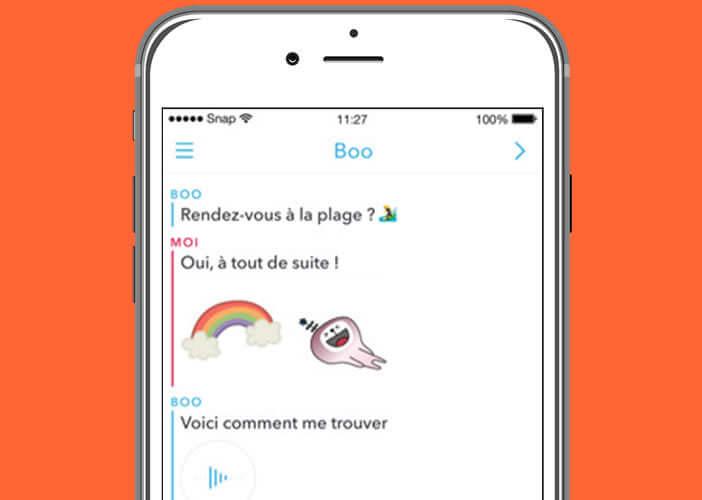 Revoir un snap éphémère gratuitement sur un smartphone Apple