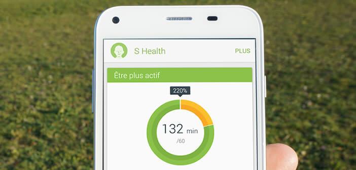 Présentation des différentes fonctionnalités de S Health