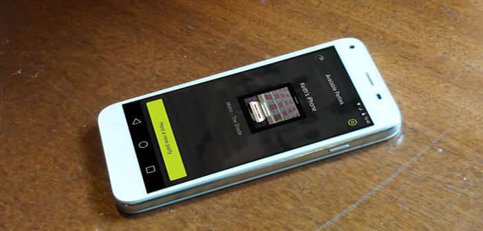 Synchroniser la musique sur plusieurs téléphones avec l'appli AmpMe