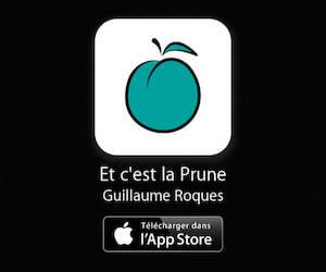 Et c'est la prune: application gratuite pour iPhone