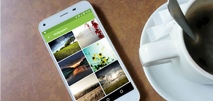 Une application pour changer automatiquement le fond d'écran d'Android