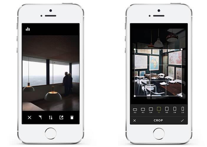VSCO Cam intègre 11 filtres photos dans son outil d'édition photo