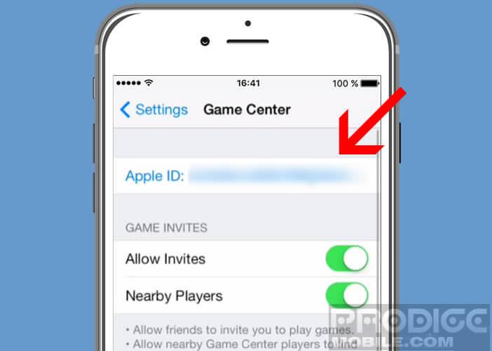 Retirer votre identifiant Apple du réseau de gaming