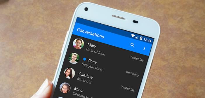 Modifier l'apparence de l'application SMS de votre mobile Android