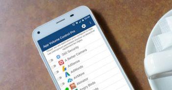 Régler automatiquement le volume de vos applications Android