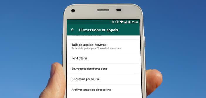 Comment sauvegarder toutes ses discussions avec WhatsApp sur Google Drive