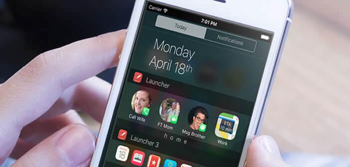 Sélection de widgets pour iPhone et iPad