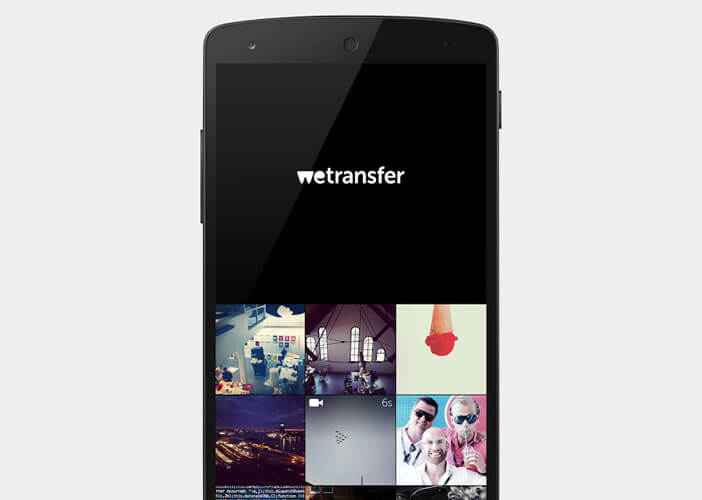 fichier wetransfer sur android