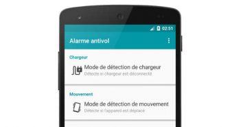Installer et paramétrer une alarme antivol sur votre smartphone Android