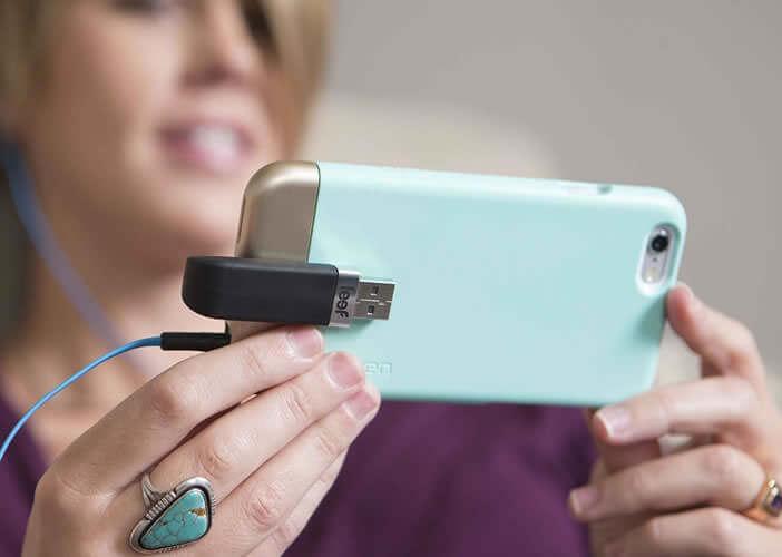 La Leef iBridge a été conçue pour augmenter la mémoire de l'iPhone