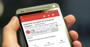 Bloquer les e-mails spams sur Gmail pour Android