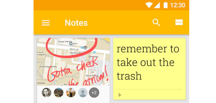 Google Keep - Bloc note pour smartphone Android