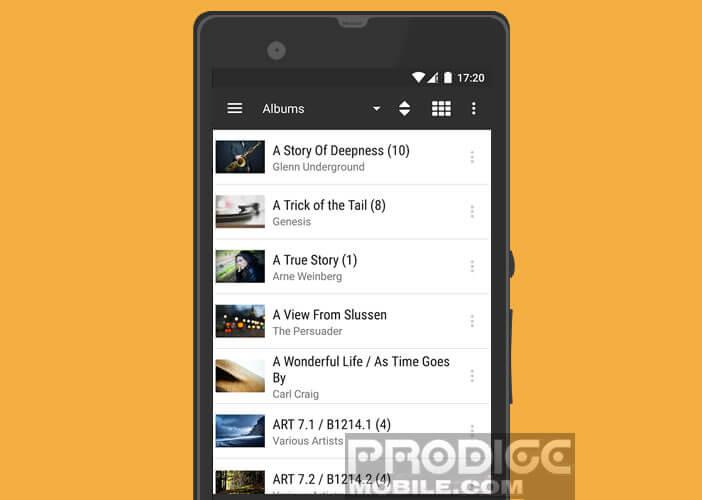 BubbleUPnP: application de streaming gratuite pour Android