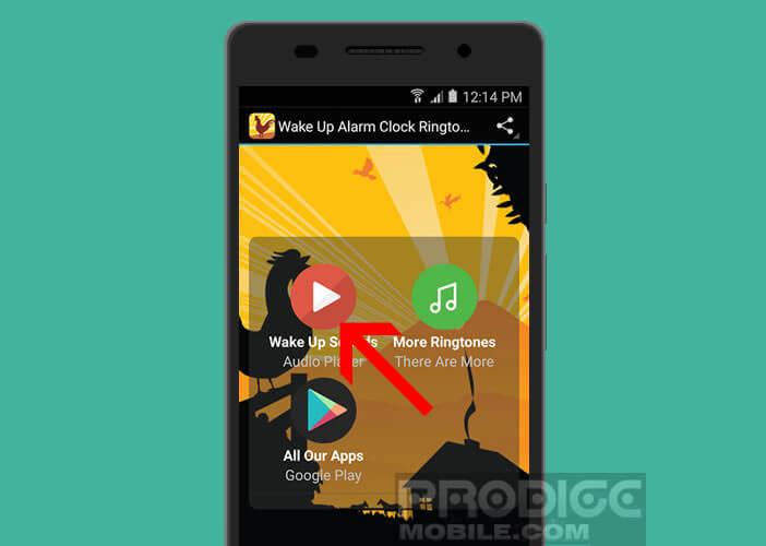 Changer l'alarme du réveil d'Android avec des mélodies et des sons gratuits