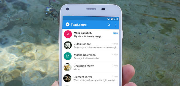 Crypter vos appels avec l'application Signal pour Android