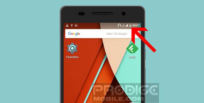 L'icône de la batterie des smartphones Android offre peu de lisibilité