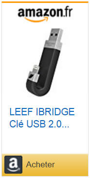 Clé USB 2.0 Leef iBridge pour iPhone