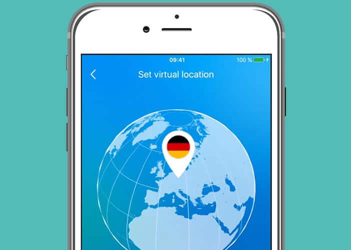 Sélectionnez l'adresse IP d'un pays à l'étranger via la localisation virtuelle