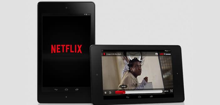 Réduire la consommation de data avec l'application Netflix