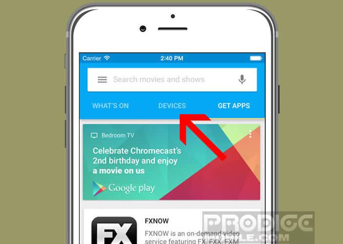 Modifier les paramètres d'affichage de votre dongle HDMI Chromecast